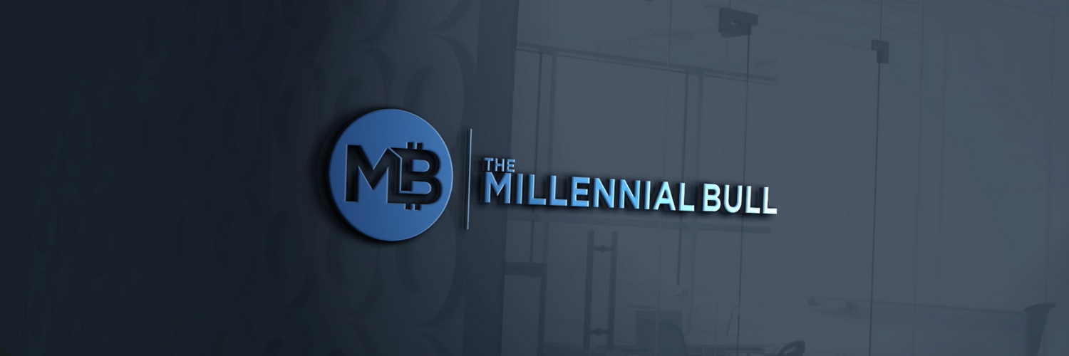 The Millennial Bull's about and welcome page photo