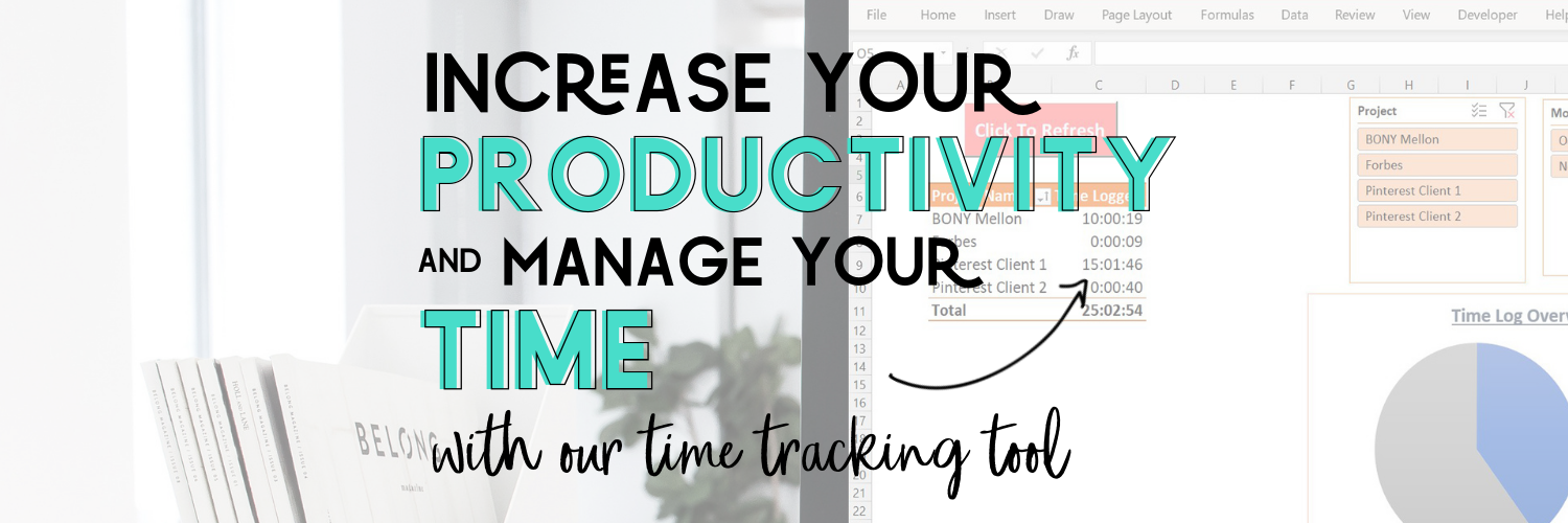 TimeTrackingTool CoverPhoto01 - Advanced Excel Time Tracking Tool