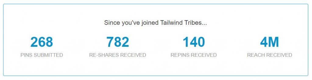 tailwind tribes   overall tribes insights03 1024x262 - How To Use Tailwind Tribes To EXPLODE Your Blog Traffic