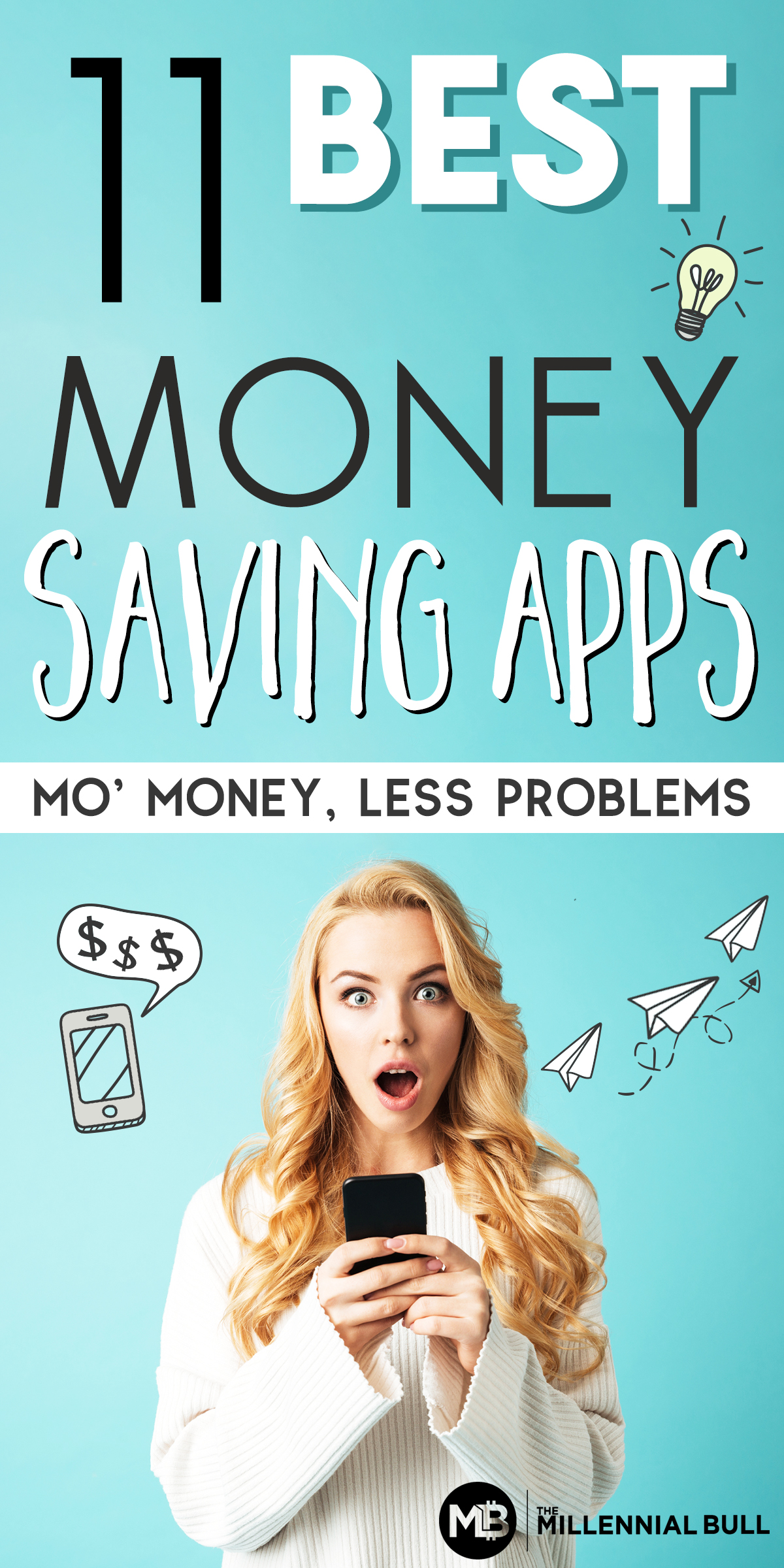 Money saving apps to boost your savings! Use this programs to get cash back, be paid to shop, get refunds and more using your phone! These easy-to-use apps are effortless ways to save more money! #savemoney #moneysavingapps #personalfinance