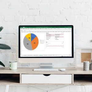 Track all of your business expenses and revenue in one place! Whether you have started a blog, a small business, or are an entrepreneur, you are sure to incur many expenses! Keep track of all of your cash flow with this easy to use and straightforward business budget tracker!