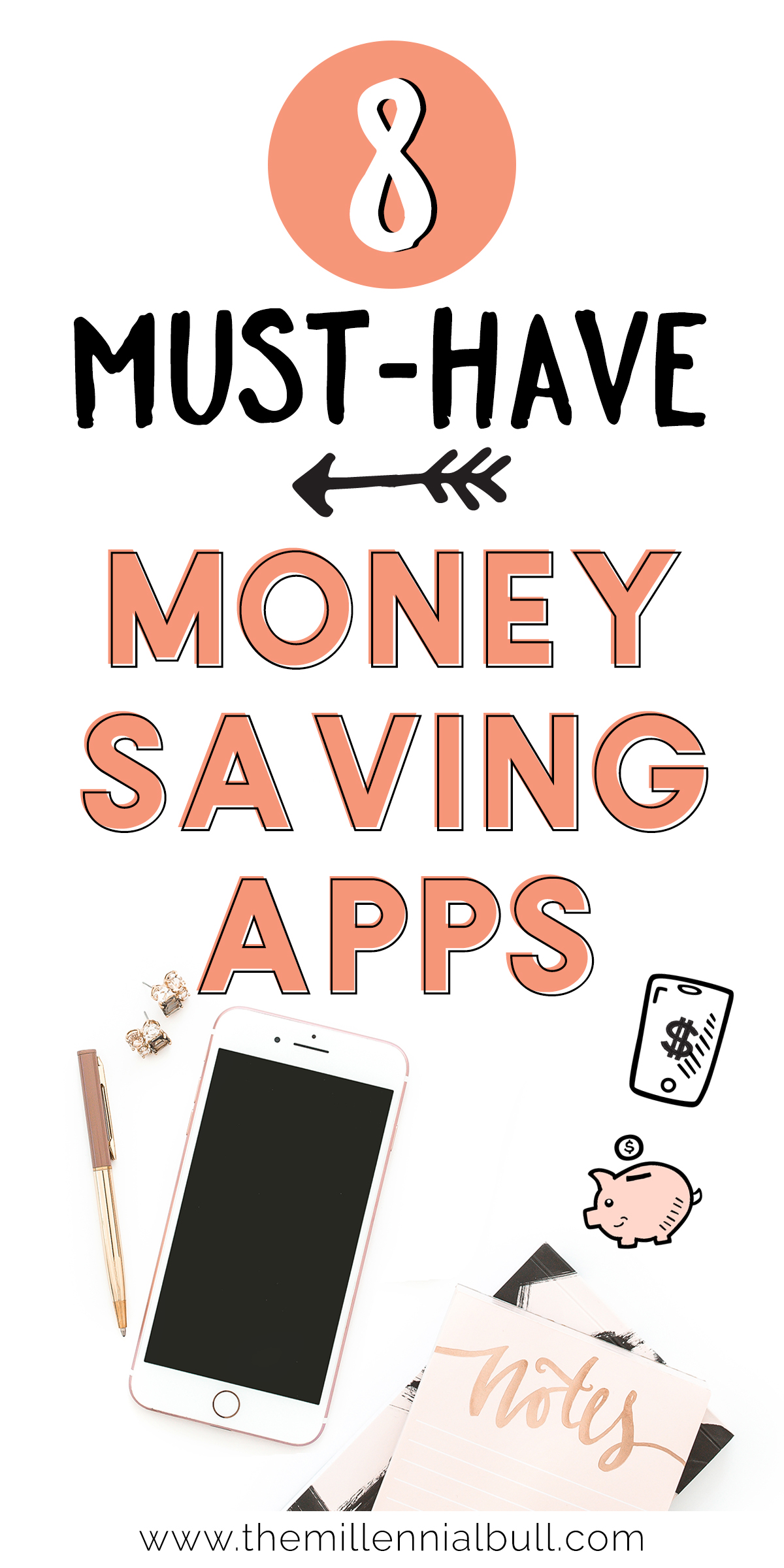 7+ must-have money-saving apps to help you save money without much effort! Get cash back on things you were already going to buy like groceries, get points for submitting your receipts, and much more!