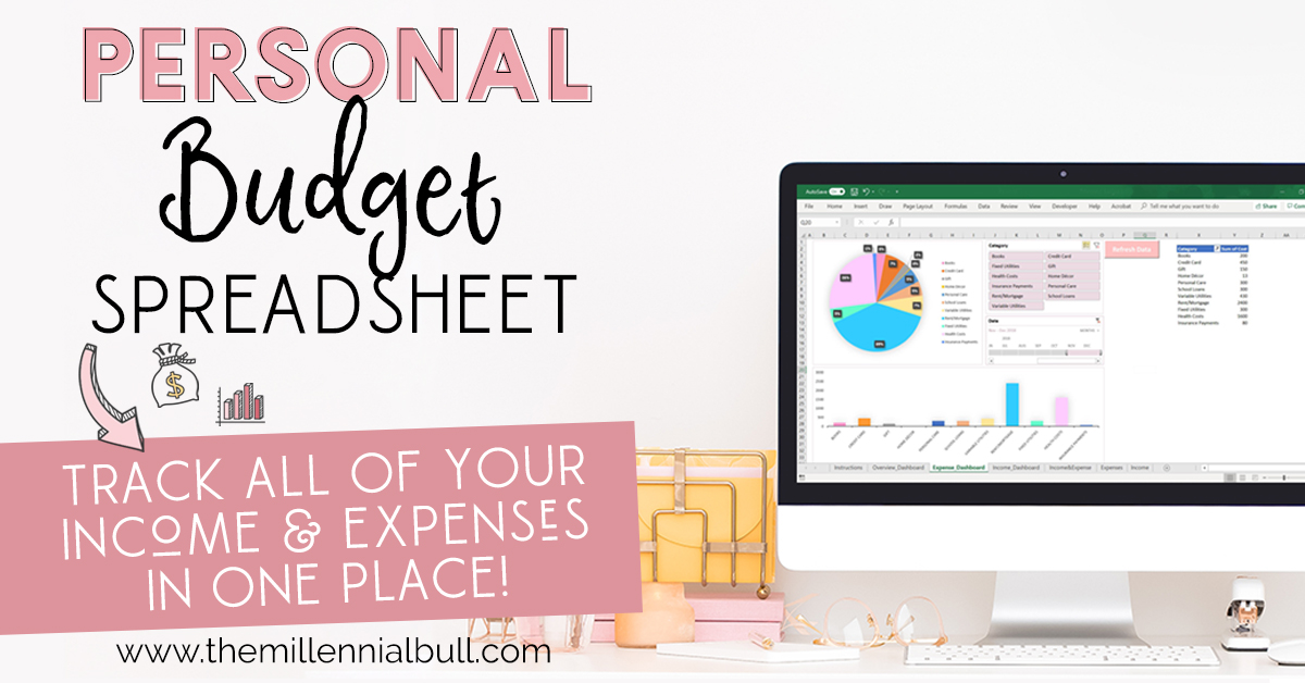 personal finance budget tracker  fb - 11 Better Money Habits For Financial Health