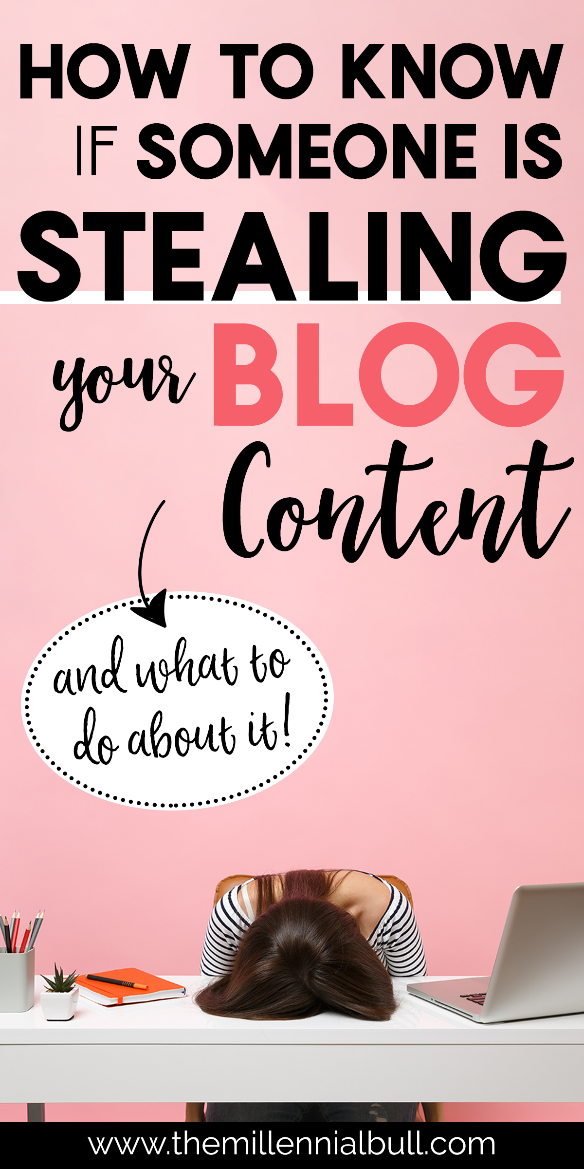 stealing your blog content pin - How To Know If Someone Is Stealing Your Blog Content