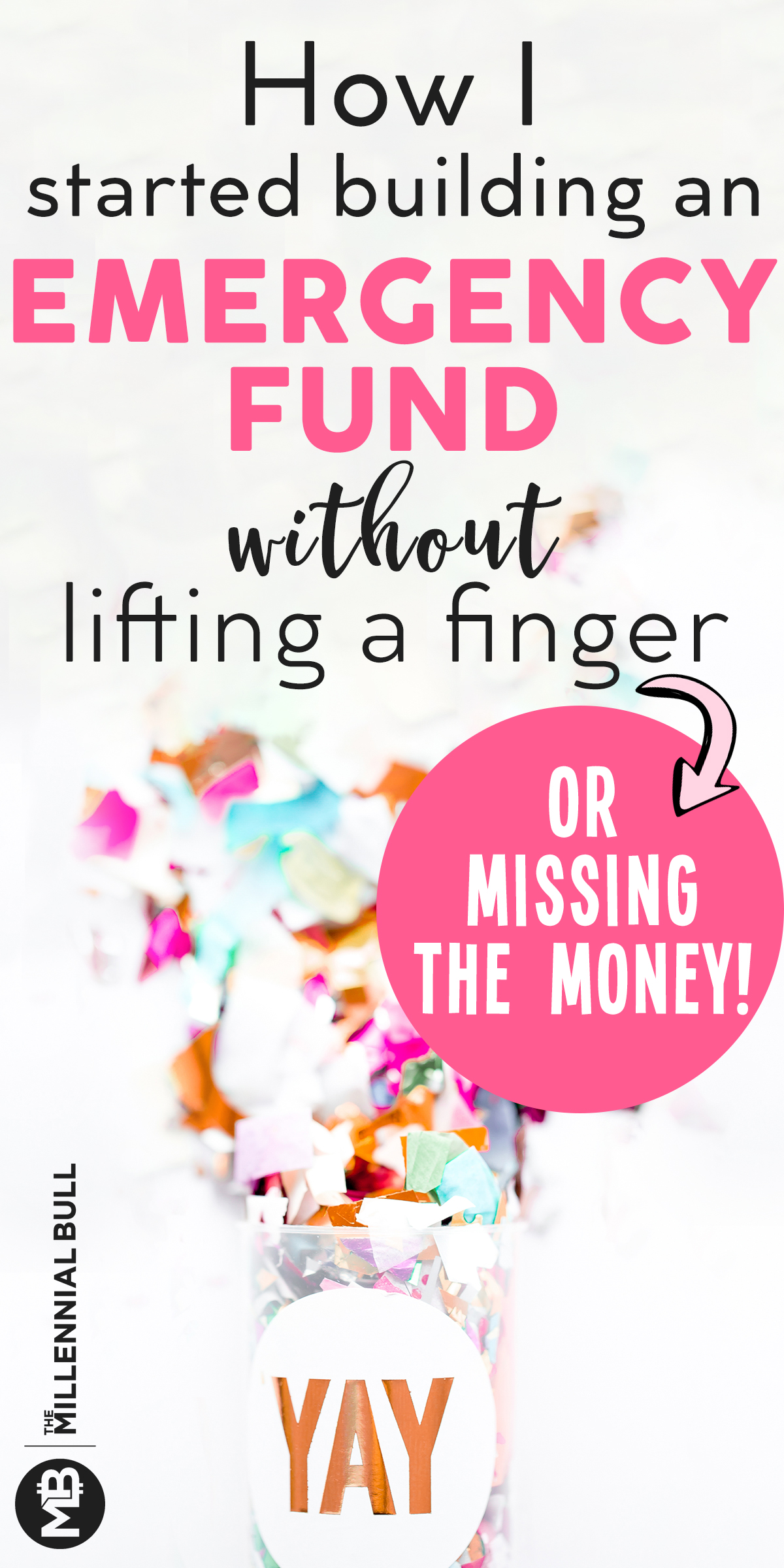 How I started building an emergency fund without lifting a finger, or missing the money! This money saving app has allowed me to save money easily without doing any work. Digit savings app is a power way to save for specific goals so you can get out of debt quickly! #savemoney #digitsavingsapp #moneysavinghacks #personalfinancehacks