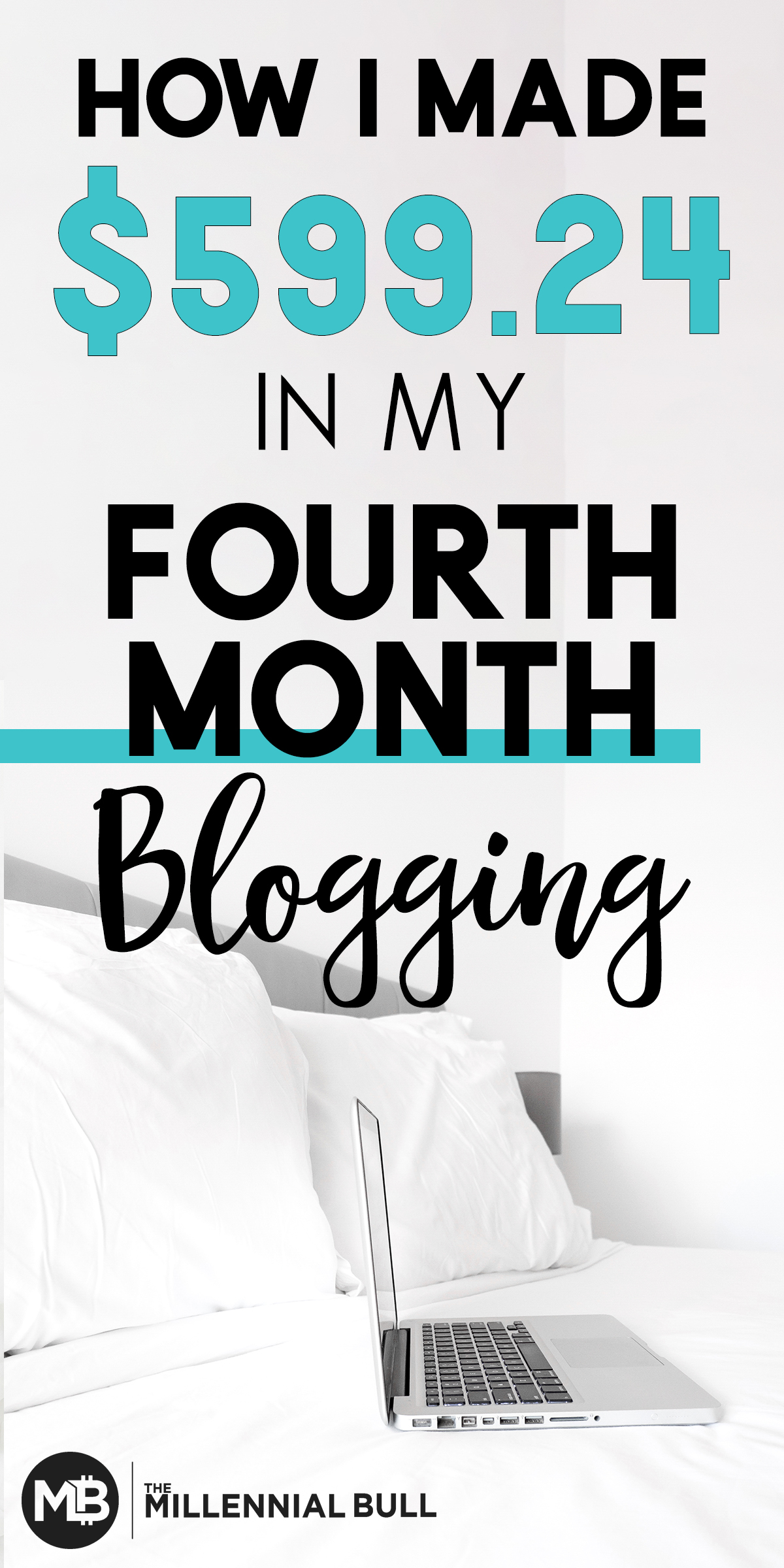 How I made $599.24 in my fourth month blogging; learn how we increased our blog income by 50% and what money making strategies worked the best for us in March 2019. #makemoneyblogging #blogincomereport #incomereport
